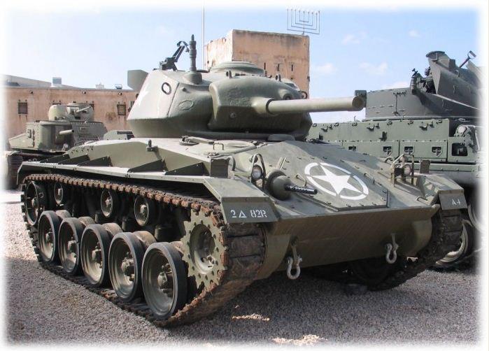 Кадиллак Танк M-24